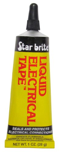 Star Brite 1-Ounce Liquid Electrical Tape, Clear