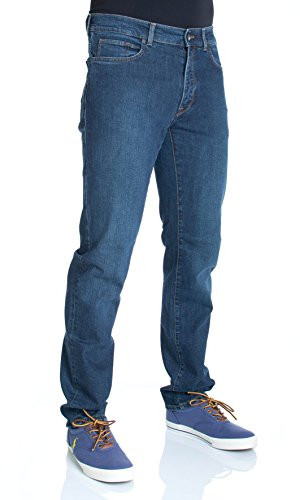 Trussardi Jeans - Jeans TRUSSARDI JEANS Uomo Denim mod.380 Icon Col.Blu 525071, Taglia - 38/52