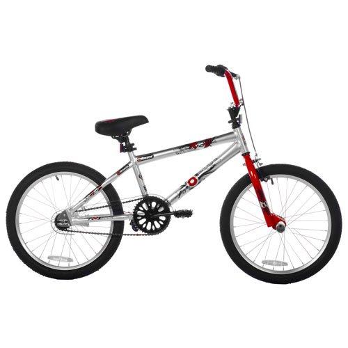 Razor RZO Boys Bike (20-Inch Wheels), Silver/Red