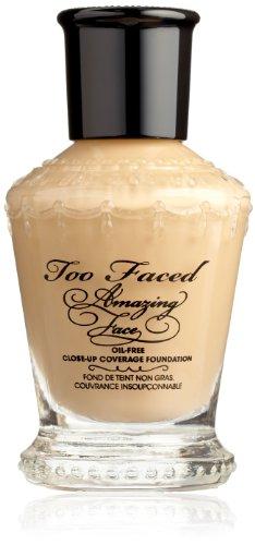 Too Faced Cosmetics Amazing Face Foundation, Perfect Nude, 1.0-Fluid Ounce