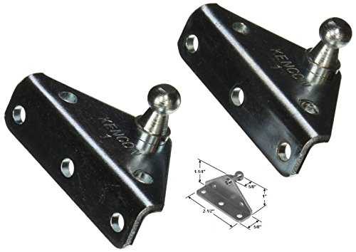 10MM Ball Stud Bracket for Gas Spring/Prop/Strut (2 Pack) (Gas Lifts compare prices)