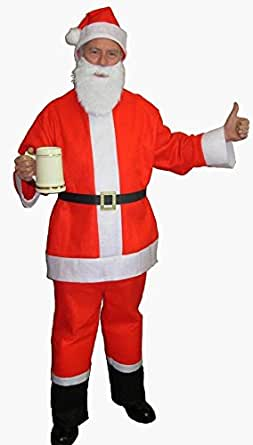 Santa Claus Beer Bar Crawl Saloon Spree Adult Costume Size Standard