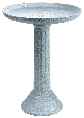 API K47501 Kozy Non Heated Bird Bath with Pedestal