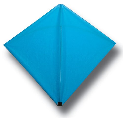 Into The Wind Blue Classic Hata Diamond Kite Made in the USA