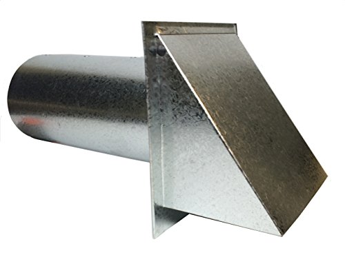 Dryer Vent - 4 Inch Metal Dryer Vent Hood (Luxury Metals Llc compare prices)