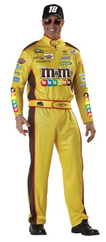 Kyle Busch Costume - Large - Chest Size 42-44