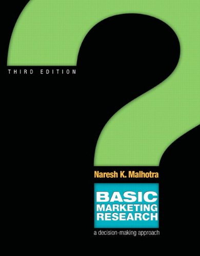 Basic Marketing Research (3rd Edition)
