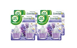 Air Wick 78473CT Scented Oil Refill, Lavender & Chamomile, 0.67oz, 2/Pack (Case of 6)