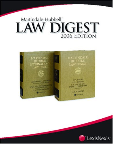 martindale-hubbell-law-digest