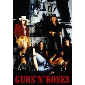 "Guns n Roses Axel Rose Slash Poster Music 91,44 x 24 cm x 60,96 (36""), dimensioni: 91,5 x 61 cm"