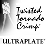 Twisted Tornado Crimp® 99.9% Pure Silver ULTRAPLATE® .019 3mm (Pk 50)