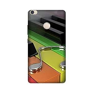 Printrose Xiaomi Mi Max back cover High Quality Designer Case and Covers for Xiaomi Mi Max music