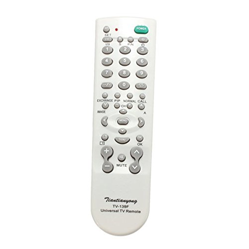 KD Bargains Portable Universal TV-139F TV Remote Control Controller For TV Television Sets