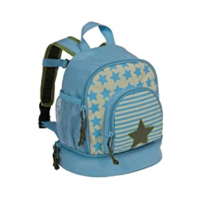 Lassig Starlight Olive Mini Backpack