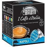 Bialetti 6822 Mini Express Espresso Capsules, Napoli, 16-pack (Color: Black/Blue, Tamaño: 16 ct.)