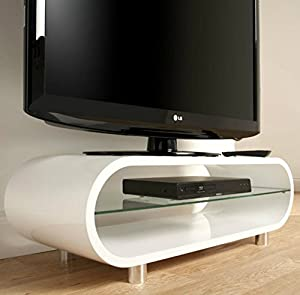 AMAZING PRICE#FREE DELIVERY#EDGE CURVE GLOSS WHITE TV UNIT/COFFEE TABLE