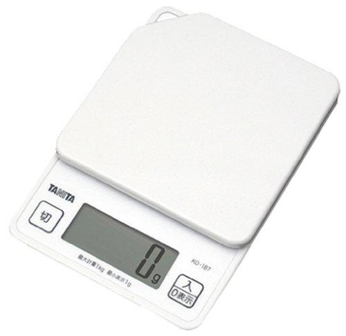 TANITA デジタルクッキングスケール ホワイト KD187-WH_清々しい朝 を明日も迎える。好きな食べ物を1日我慢したら、野菜をたくさん食べてリバウンドを抑える。【小さな成長2113】