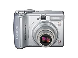 Canon PowerShot A550 7.1MP Digital Camera with 4x Optical Zoom