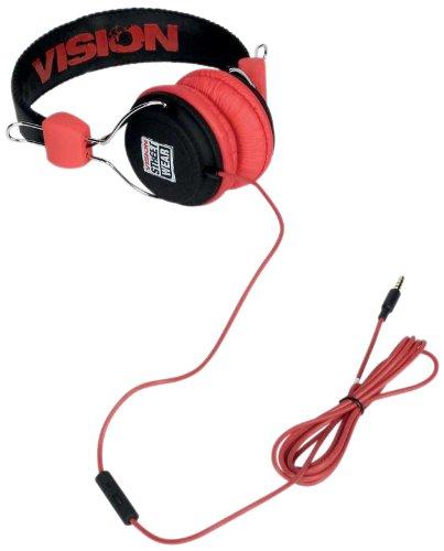 Templar-hpvilogo0-000N0/hl-301-Kopfhörer Stereo Vision Street Wear-Schwarz/Rot