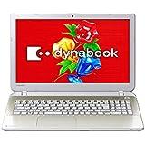 東芝 dynabook T45/33M [Office付き] PT45-33MSXG (ライトゴールド)
