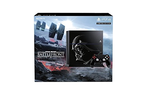 500GB PlayStation 4 Console - Limited Edition Star Wars Battlefront Bundle at Gotham City Store