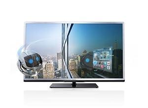 Philips 32PFL4508K/12 81 cm (32 Zoll) 3D-LED-Backlight-Fernseher, EEK A+ (Full HD, 200Hz PMR, DVB-T/C/S, CI+, Smart TV, WiFi) silber