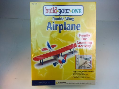 Double Wing Airplane Craft Kit - 1