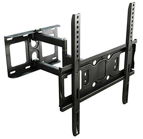 RICOO Supporto TV S5144 Muro TV per televisori orientabile inclinabile LED TV LCD Distanza tra i fori / VESA 400x400 supporto da parete universale per schermo piatto 76 - 165cm (30 - 65' pollici)