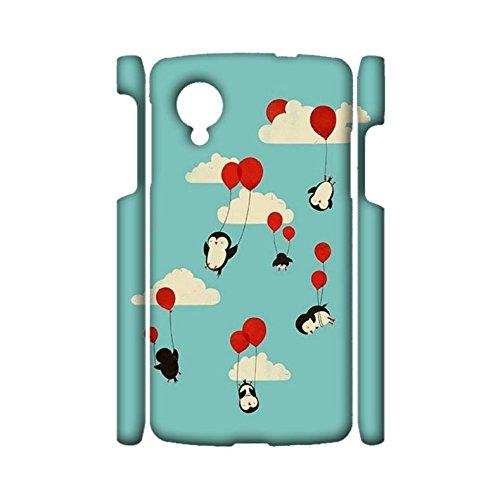 google-nexus-5-back-case-covervintage-perfect-penguins-print-image-printed-shell-3d-hard-plastic-cov