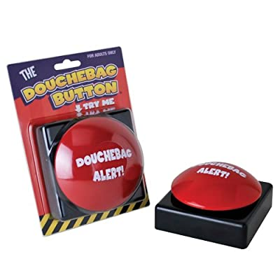 Big Mouth Toys Ultimate Douchebag Alert Button by Big Mouth Toys