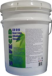 Beer Line Alkaline Cleaner 5 Gallon Pail