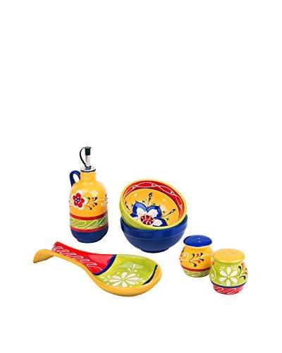 Molecuisine Kit de Cocina 6 Piezas Tex-Mex Multicolor