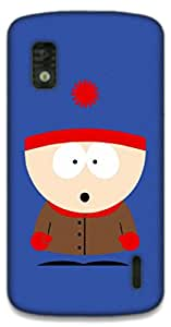 The Racoon Lean Stan hard plastic printed back case / cover for LG Nexus 4