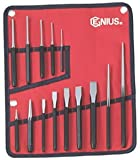 PC514S - 14 Piece Fractional Punch and Chisel Set