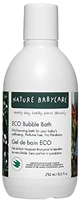 Nature Babycare Eco-Sensitive Bubble Bath - 8.5 oz