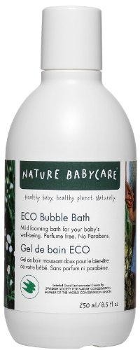 Nature Babycare Eco-Sensitive Bubble Bath - 8.5 oz - 1