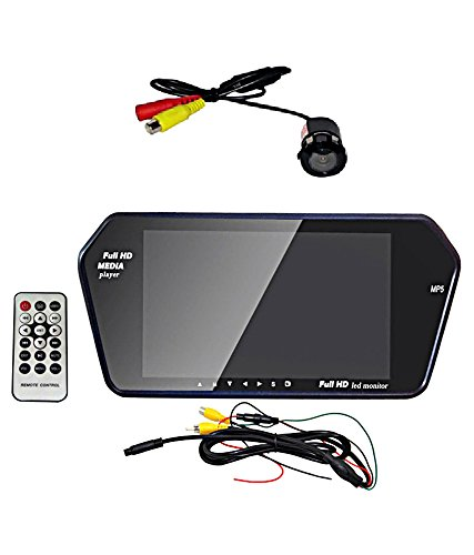 AutoTrends Full Hd Monitor With Mp5 Sd-Card Usb & Car Rear View Night Vision Camera