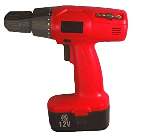 Construction+Zone Construction Zone 40103 Cordless Drill/Driver 12V 3/8 inch