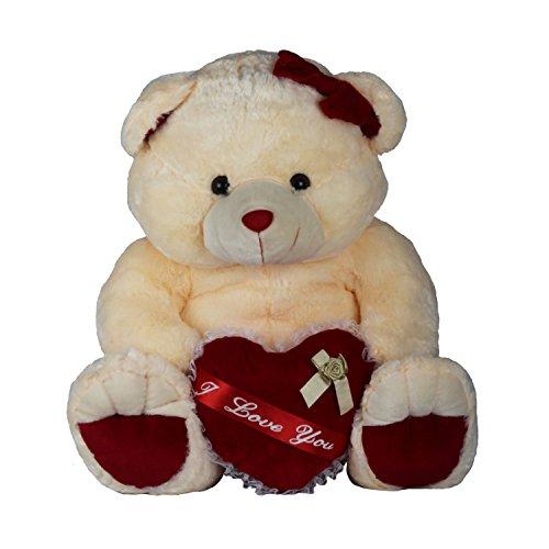 EduToys-Soft-Teddy-Colourful-Bear-with-I-Love-You-Red-Heart