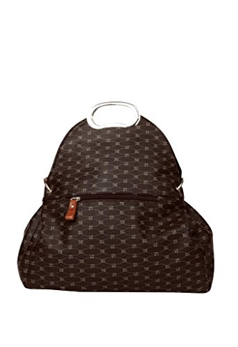 Just Women Just Women Slick Chocolate Color Handbag (Brown)
