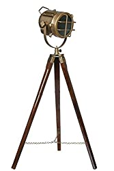 Hollywood Style Studio Floor Lamp Decorative Tripod Spotlight Light with wiring and Bulb