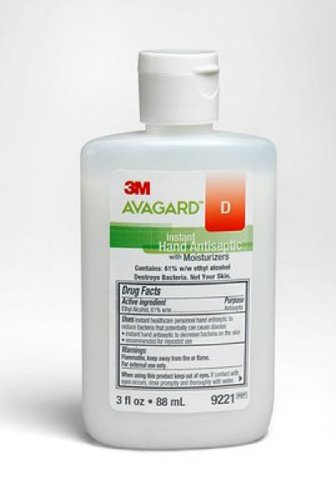 mckesson-special-1-pack-of-5-3m-avagard-instant-hand-antiseptic-with-moisturizers-mmm9221-3m-healthc