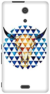 The Racoon Lean Taurus hard plastic printed back case / cover for Sony Xperia ZR