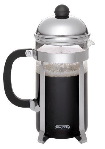 BonJour French Press Monet, Polished Stainless Steel, 12-Cup (12 Cup Bonjour French Press compare prices)