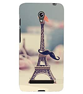 PRINTSHOPPII EIFFEL TOWER Back Case Cover for Asus Zenfone 5 A501CG::Asus Zenfone 5 A500CG