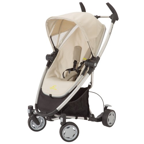 Quinny Zapp Xtra Stroller With Folding Seat, Natural Mavis front-908654