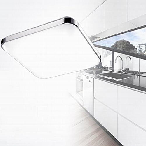 sailun 36w warmwei kaltwei dimmbar led modern deckenleuchte deckenlampe flur wohnzimmer lampe. Black Bedroom Furniture Sets. Home Design Ideas