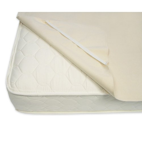 Naturepedic Queen Waterproof Organic Mattress Protector Pad