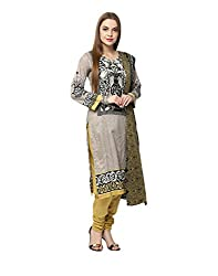 Yepme Women's Grey Blended Unstitiched Suits - YPMRTS0310_Free Size