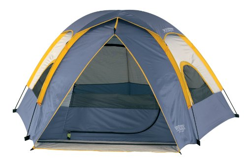 Wenzel Alpine 8.5 X 8-Feet Dome Tent (Light Grey/Blue/Gold)